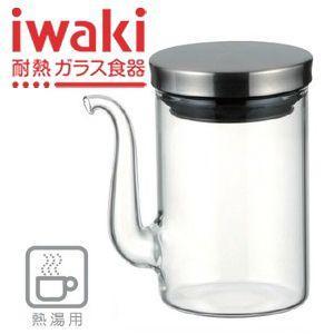 醤油さし 液だれしない パイレックス iwaki イワキ クラフトライン しょうゆ差し 80ml 5022-SV/醤油差し|maple517