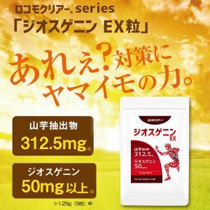 メール便 DHEA 山芋 サプリ ジオスゲニン ロコモクリアーR ジオスゲニンEX ヤマイモ やまいも サプリメント 送料無料 maple517