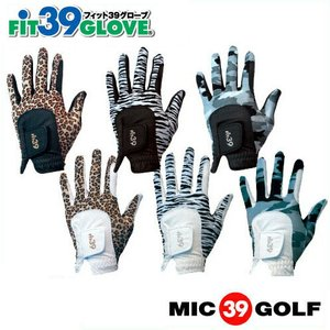 MIC ミック Fit39 フィット39 ゴルフグローブ サファリ 左手用 右手用 ゴルフ手袋 テニス ゴルフ用品