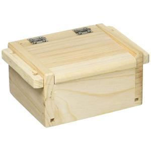 A.NET KOTOBUKIYA(ア・ネットコトブキヤ) 木エサ箱 マグネット付 108×90×55mm 小 W-121|mapletreehouse