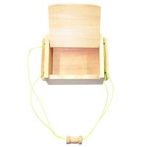 A.NET KOTOBUKIYA(ア・ネットコトブキヤ) 木製エサ箱A 小 W-087|mapletreehouse