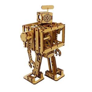 コバアニ模型工房 ゴム動力二足歩行 ボードボット 1 号機 木製組立キット SP-002