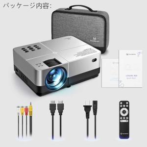 VANKYOプロジェクター LED小型 ホームプロジェクター3200Lux 1080pフルHD対応 ...