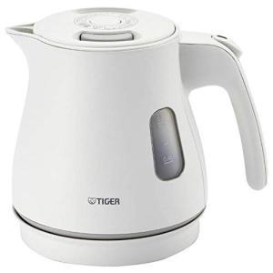 タイガー 電気ケトル 0.8L マットホワイトTIGER PCM-A080-WM
