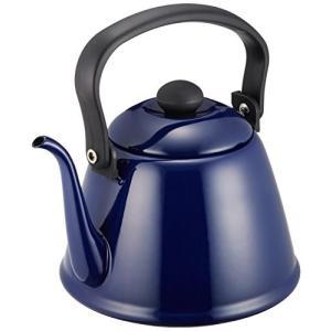 カリタ コーヒーケトル ホーロー製 細口 2L ブルー #52103