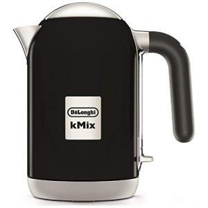 デロンギ 電気ケトル 1.0L『kMix ケーミックス』 ZJX650J-BK (リッチブラック)