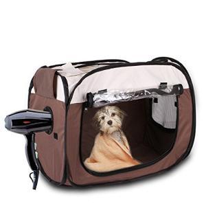 呉屋デパート ペット乾燥箱 犬 猫 ドライルーム ヘアドライヤー 乾燥ケース ペットハウス 乾燥ボッ...