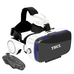 VRゴーグル スマホ用VRゴーグル VRヘッドセット 「技適認証済」 アンチブルーレンズ 瞳孔/焦点距離調節 軽量 1080PHD 3D ゲ|mapletreehouse