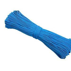 ROSENICE パラコード ナイロンロープ 手芸用 クラフト用品 4mm 100m(ブルー)|mapletreehouse
