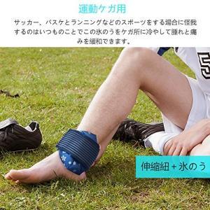2個氷のう KAKOO 付属品(スピードラップ+ナップサック) アイスバッグ 氷嚢 腫脹減退 ラウンド 暑さ対策 ケガ用品 応急措置 挫傷/捻挫/発熱|mapletreehouse