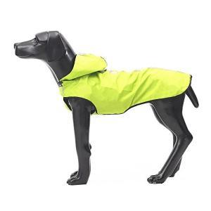 【DB】犬レインーコート 犬 ジャケット 犬用ポンチョ 夜間 散歩 中型犬 カッパ ポンチョ 帽子付き 犬用カッパ 犬服 通気性良い 防水 防雪 犬用|mapletreehouse