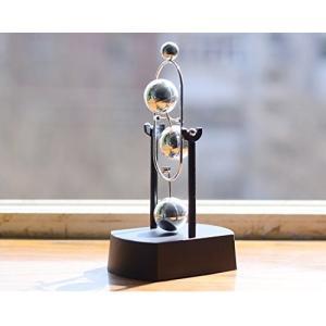 ScienceGeek?キネティック惑星 -ミニ火星 テーブルモビール 科学玩具 電子永久運動 インテリア飾り mapletreehouse