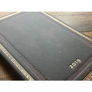 ペーパーブランクス 2019年版ダイアリー ブラックモロッカン A6 レフト式 ミニ バーソ DJ5305-7|mapletreehouse