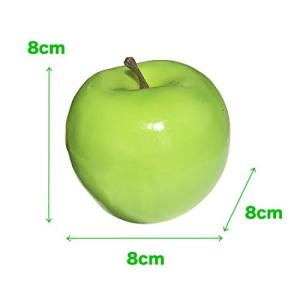 SENYON 食品サンプル リンゴ 果物 フルーツ ディスプレイ 模型 (10個、 青) mapletreehouse