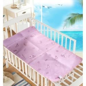 サイズ:ベッドパット120*70CM  年齢:1歳〜6歳 高品質のシルク繊維で作られ、肌触りよくて涼...