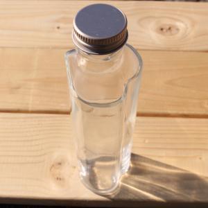ハーバリウム 用 ハート瓶 100ml 1本 ...の詳細画像1