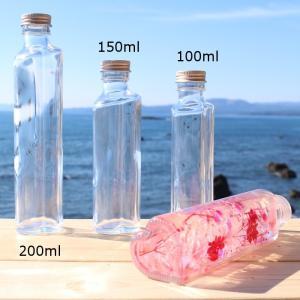 ハーバリウム 用 ハート瓶 100ml 1本 ...の詳細画像3
