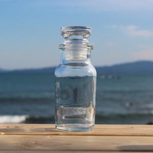 ワグナー瓶 66.7ml 1本 アクリル樹脂付き硝子栓 空ビン ボトル(スパイス瓶 キット )
