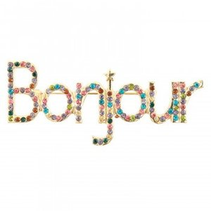 Tippi Candy ブローチ Bonjour 089350 mapsmarket