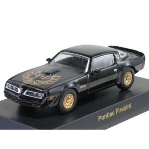 京商 1/64 USAスポーツカー  ミニカーコレクション1 ポンティアック ファイアーバード トラ...