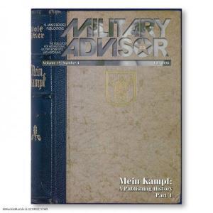 アメリカ書籍 ミリタリー・アドバイザー Vol.19 Num.4 // MILITARY_ADVISOR marblemarble