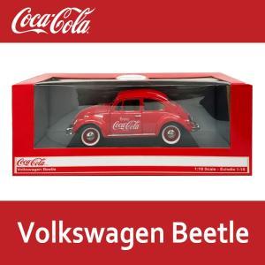 コカコーラ ミニカー 1/18 VW ビートル // COKE アメリカン雑貨|marblemarble