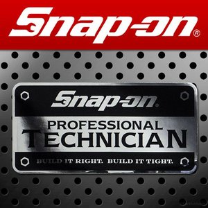 Snap-on スナップオン アメリカンステッカー PROFESSIONAL TECHNICIAN 鏡面 008 アメリカン雑貨|marblemarble