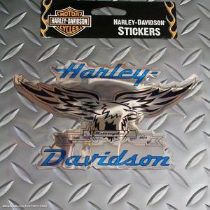 アメリカを代表するモーターサイクル「ハーレーダビッドソン」のデカール・ステッカー☆☆\( ̄∇ ̄+) ...