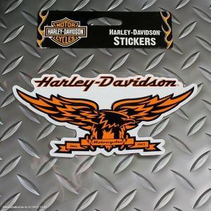 HARLEY-DAVIDSON デカール・ステッカー #005 // カスタムステッカー / シール / ハーレーダビッドソン / メール便可|marblemarble