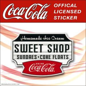 Coca-Cola(コカコーラ) ステッカー・デカールシール シリーズ2 / #014 // アメリカン雑貨 / メール便対応|marblemarble