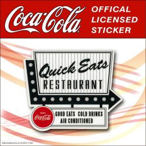 Coca-Cola(コカコーラ) ステッカー・デカールシール シリーズ2 / #017 // アメリカン雑貨 / メール便対応|marblemarble
