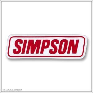 デカール ステッカー 耐UV 耐水 #031 SIMPSON レクト // アメリカン雑貨 / メール便可|marblemarble