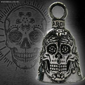 ガーディアンベル Guardian Bell バイカーベル Suger Skull シュガー・スカル メキシカン・スカル // アメリカン雑貨 / キーホルダー / ギフト marblemarble