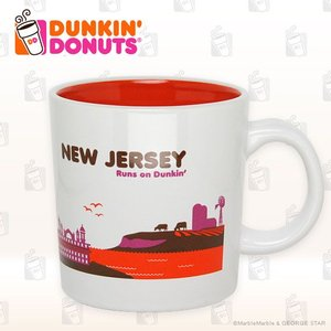 DUNKIN' DONUTS ダンキンドーナツ DDestinations Collection NEW JERSEY 14オンス ライセンス品 平行輸入品 あす楽|marblemarble