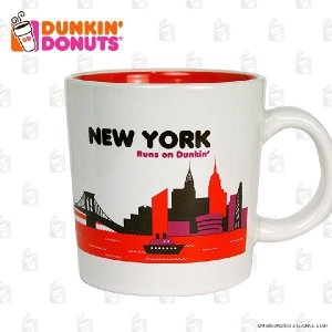 DUNKIN' DONUTS ダンキンドーナツ DDestinations Collection NEW YORK 14オンス ライセンス品 平行輸入品|marblemarble