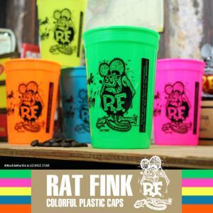 Rat Fink スタジアム プラカップ // ラットフィンク / アメリカン雑貨 / カラフル / プラスチック / スタッキング / Cups カップス|marblemarble