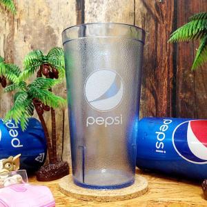 ペプシ プラスチック タンブラー 16oz 473ml [ PEPSI 割れない コップ 5216IB203 並行輸入 アメリカ Made in USA ]|marblemarble