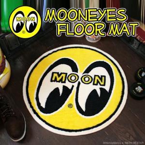 MOONEYE'S ムーンアイズ 室内 屋内 フロアーマット アイボール|marblemarble