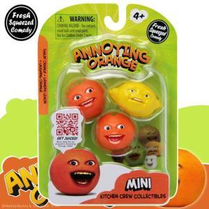 アノーイング・オレンジ KY ウザいオレンジ ミニフィギュア3体セット #1 レモンセット|marblemarble