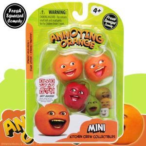 アノーイング・オレンジ KY ウザいオレンジ ミニフィギュア3体セット #2 アップルセット|marblemarble