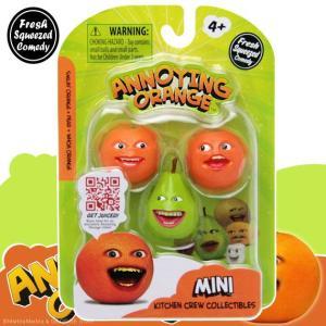 アノーイング・オレンジ KY ウザいオレンジ ミニフィギュア3体セット #3 洋ナシセット|marblemarble