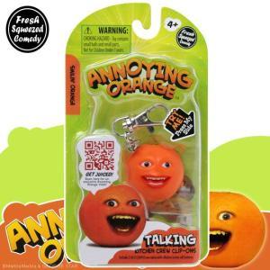 アノーイング・オレンジ KY ウザいオレンジ トーキング・フィギュア・キーホルダー #1 Smilin' Orange|marblemarble