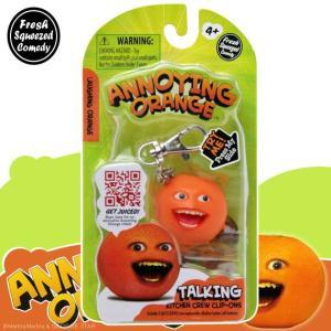 アノーイング・オレンジ KY ウザいオレンジ トーキング・フィギュア・キーホルダー #2 Laughing Orange|marblemarble