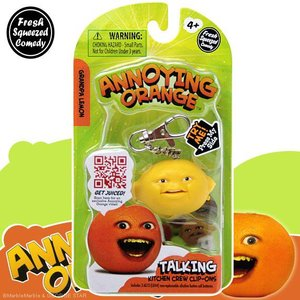 アノーイング・オレンジ KY ウザいオレンジ トーキング・フィギュア・キーホルダー #7 グランパー・レモン|marblemarble