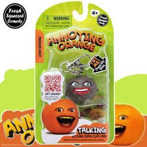 アノーイング・オレンジ KY ウザいオレンジ トーキング・フィギュア・キーホルダー #9 パッション・フルーツ|marblemarble