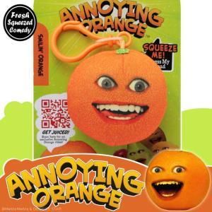 アノーイング・オレンジ KY ウザいオレンジ クリップ付きトーキング・スクウィーズ #1 Smilin' Orange|marblemarble