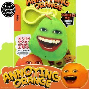 アノーイング・オレンジ KY ウザいオレンジ クリップ付きトーキング・スクウィーズ #5 ペアー|marblemarble