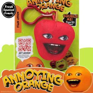 アノーイング・オレンジ KY ウザいオレンジ クリップ付きトーキング・スクウィーズ #6 ミゼット・アップル|marblemarble