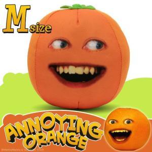 アノーイング・オレンジ KY ウザいオレンジ トーキング・フェイス・スクウィーズ Mサイズ  #1 Smilin' Orange|marblemarble