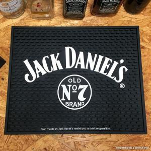 バーマット Jack Daniel's ビッグ // ジャックダニエル インテリア雑貨 酒雑貨|marblemarble